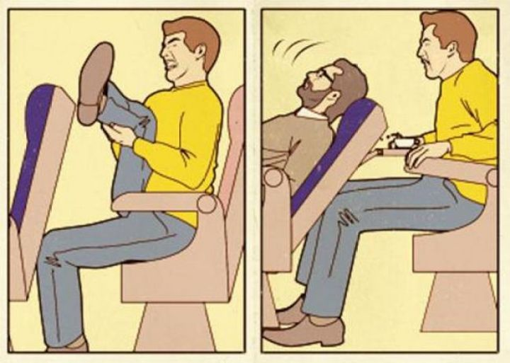 27 Tall People Problems Only Tall People Have - Seats on planes are never comfortable.