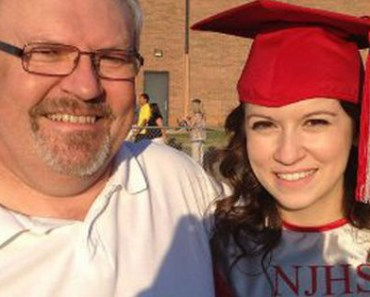 The gift this father gave his daughter for her graduation is sweet