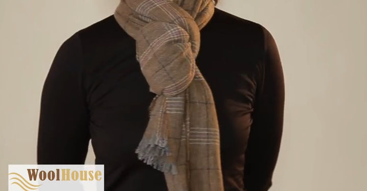 Style #3 - 19 awesome ways to tie a scarf or shawl.