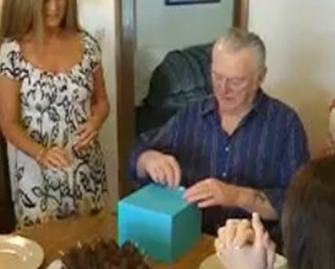Imagine going to the pet store and finding a puppy that you love only to find out that it was sold to somebody else. This is what happened to this grandfather but he was in for the surprise of his life on his birthday.