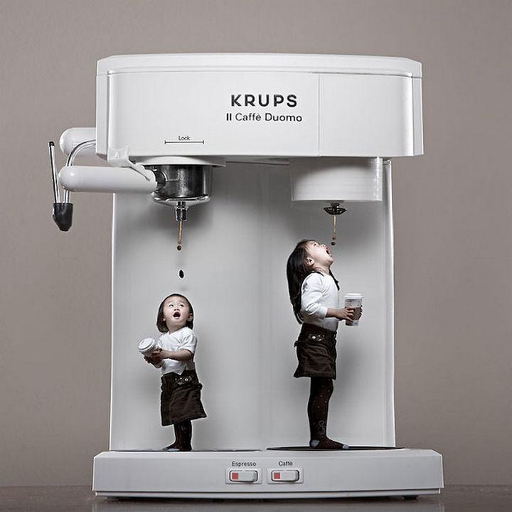 Kristin and Kayla - Who needs a cup?