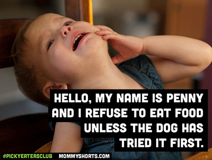 Picky Eaters Club - Hello, my name is Penny...