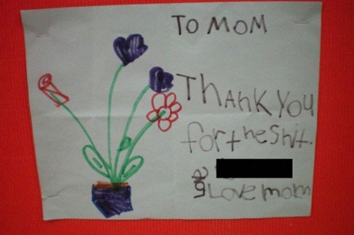 """18 Funny Spelling Mistakes - """"Thank you for the SHIRT?"""""""