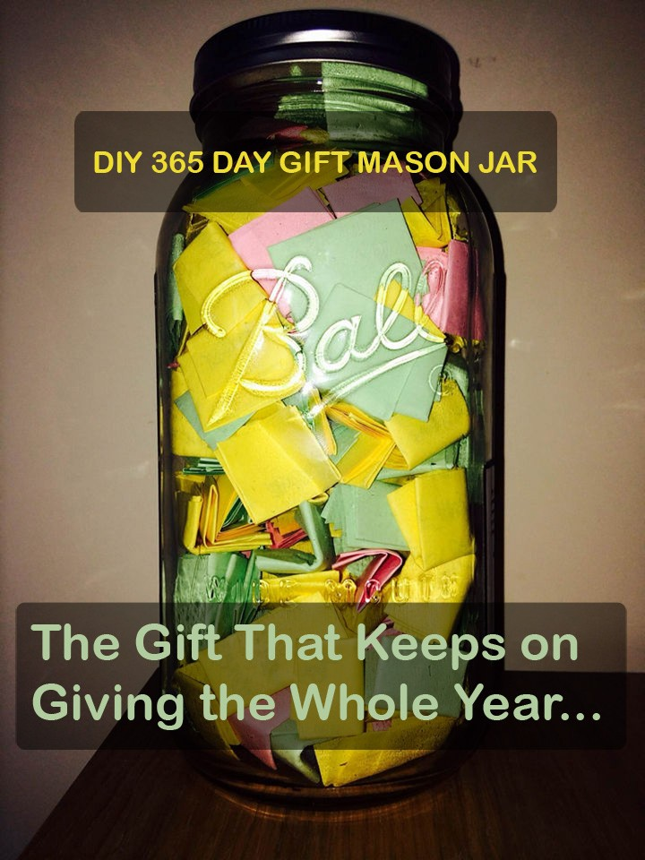 '365 Jar' DYI Gift Truly Does Keep on Giving the Whole Year.