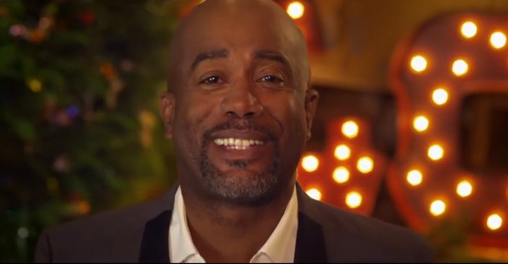 """Darius Rucker Holiday Video """"What God Wants for Christmas."""""""