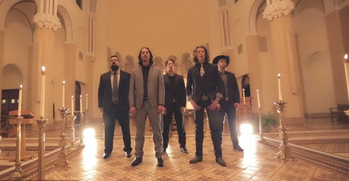 """Home Free Performs a Christmas Favorite, """"O Holy Night."""""""