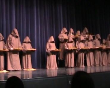 Silent Monks 'Singing' the Best Version of 'Hallelujah Chorus' Ever