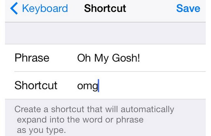 19 iPhone Tips and Tricks - Create custom keyboard shortcuts for common phrases.