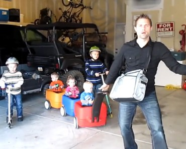 Fathers Will Relate to This Hilarious 'Sexy and I Know It' Parody.