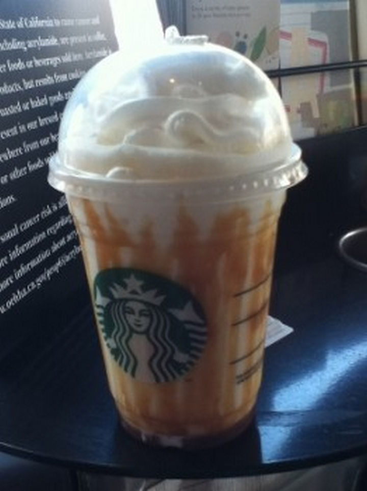 39 Starbucks Secret Menu Drinks - Butterbeer Frappuccino recipe.
