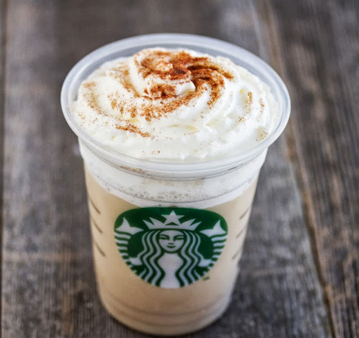 39 Starbucks Secret Menu Drinks - Horchata Frappuccino recipe.