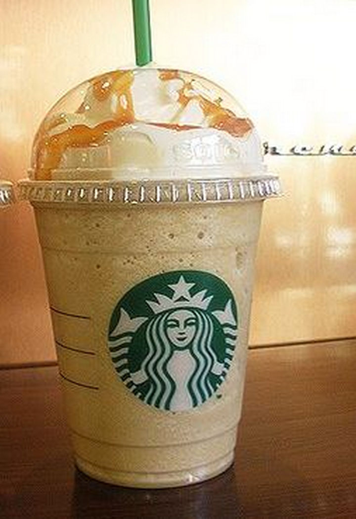 39 Starbucks Secret Menu Drinks - Nutella Frappuccino recipe.