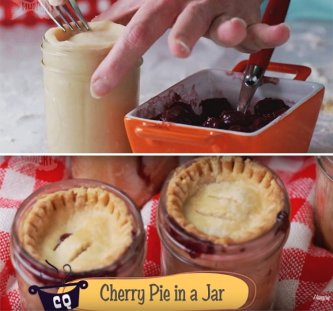 Cherry Pies in Mason Jars Recipe Let's You Have Pie on the Go!