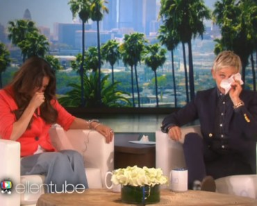 Ellen DeGeneres Heard This Teacher's Story and She Cried.