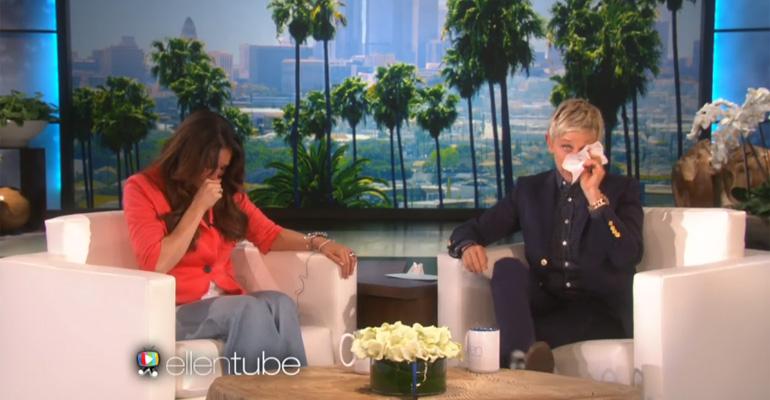 Ellen DeGeneres Heard Teacher Sonya Romero's Story and She Cried.