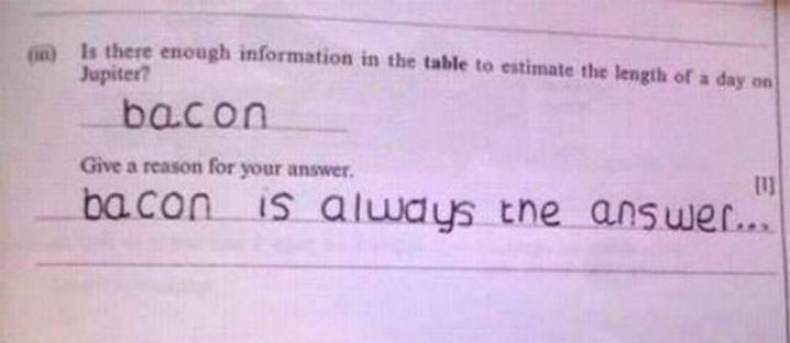 25 Funny Test Answers From Funny Kids - I want to give this kid a high-five.