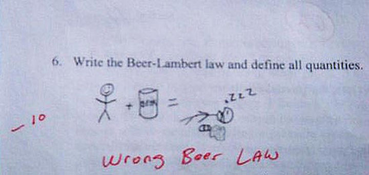 25 Funny Test Answers From Funny Kids - Yeah, that looks about right :)