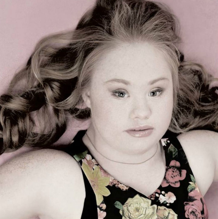 She knows that people with Down Syndrome can do anything if they work hard.