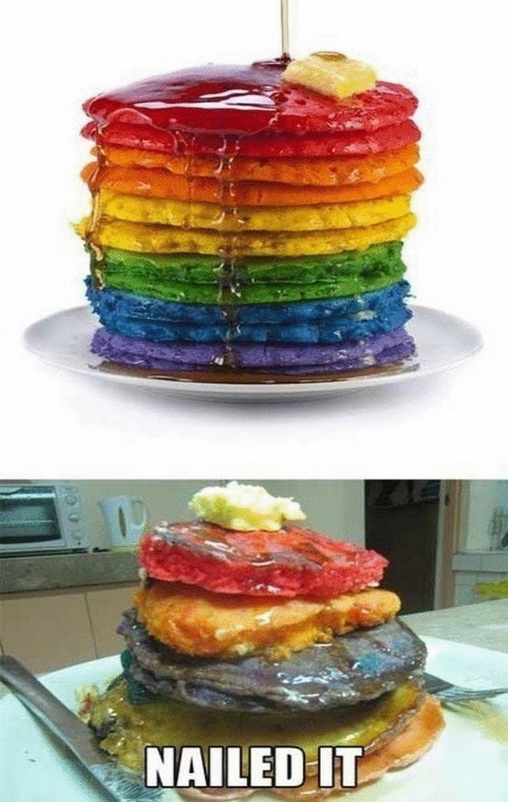 26 Pinterest Fails - It was worth a try.