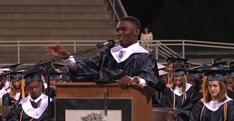 Graduating Student Began to Pray After Medical Emergency.