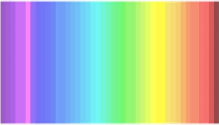 How Many Colors Do You See in Diana Derval's Tetrachromat Color Test?