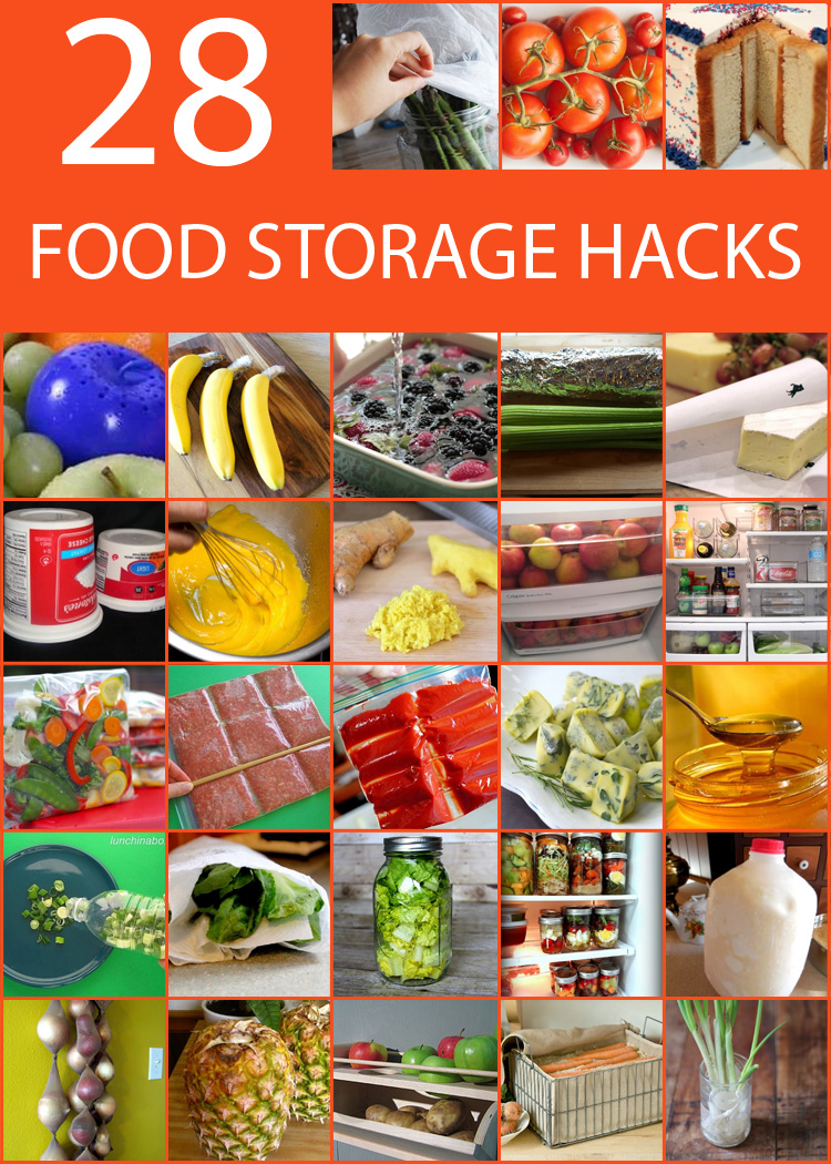 28 Ways How to Store Food and Extend Its Shelf Life and Save Money.