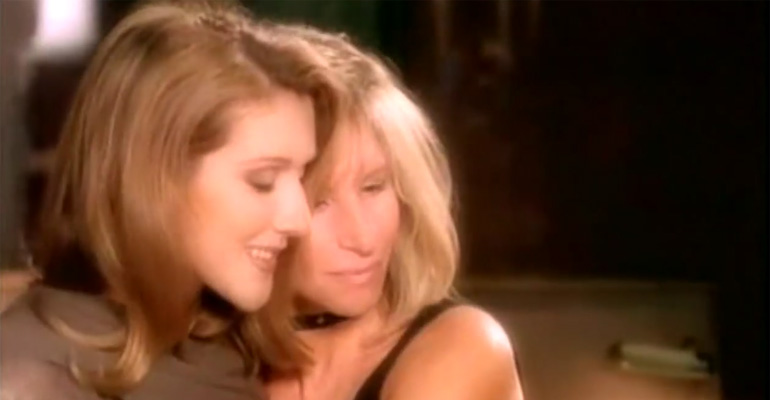 Celine Dion and Barbra Streisand Sing Duet Named 'Tell Him'.