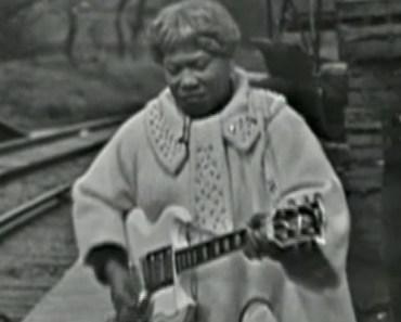 "Sister Rosetta Tharpe's Performance Of ""Didn't It Rain"" Is Legendary."