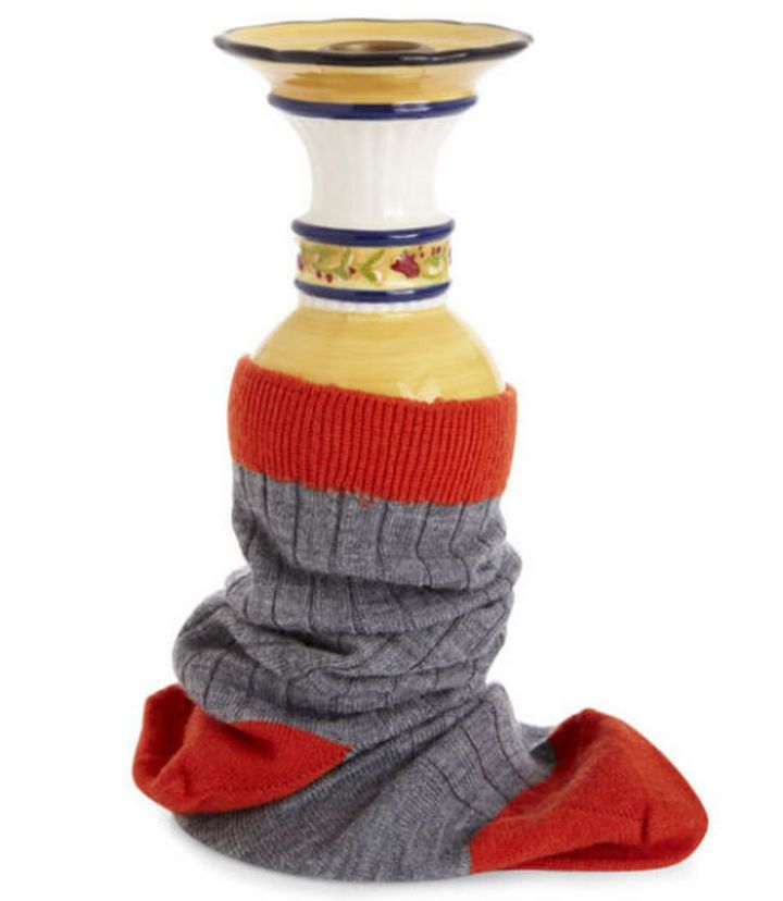 47 Amazing Life Hacks - Socks - Wrap fragile items in a sock if storing them to prevent any damage.