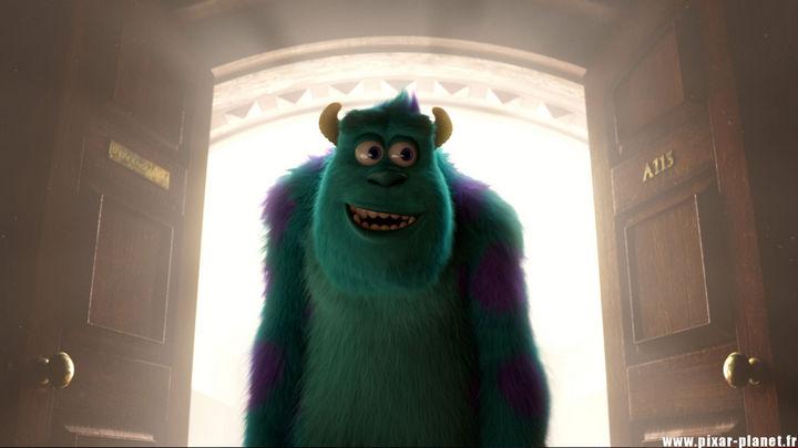 Disney and Pixar 'A113 Easter Egg - Written on a door in Monster's University.