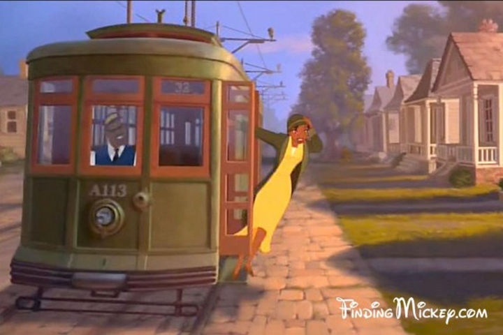 Disney and Pixar 'A113 Easter Egg - The streetcar number in The Princess and the Frog.