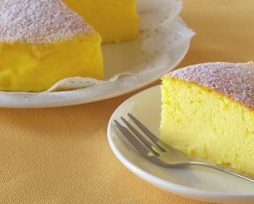 Japanese Cotton Cheesecake Recipe Only Needs 3 Ingredients.
