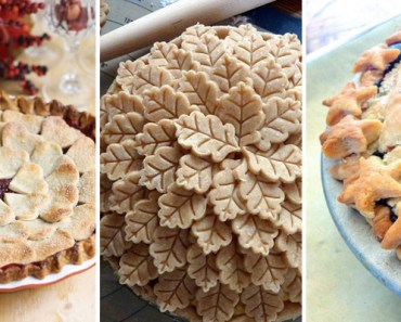 15 Pie Crust Designs to Make Your Pies Even More Beautiful.