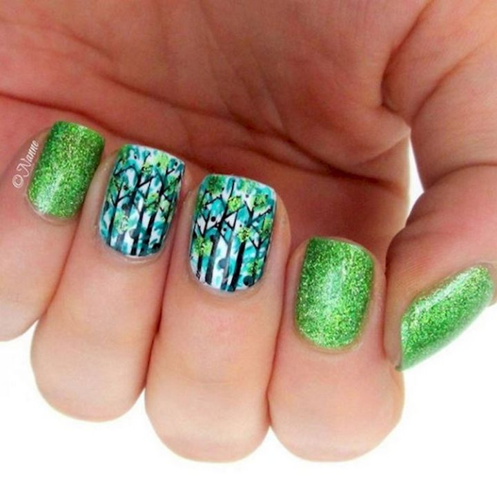18 Green Manicures - Display some beautiful foliage.