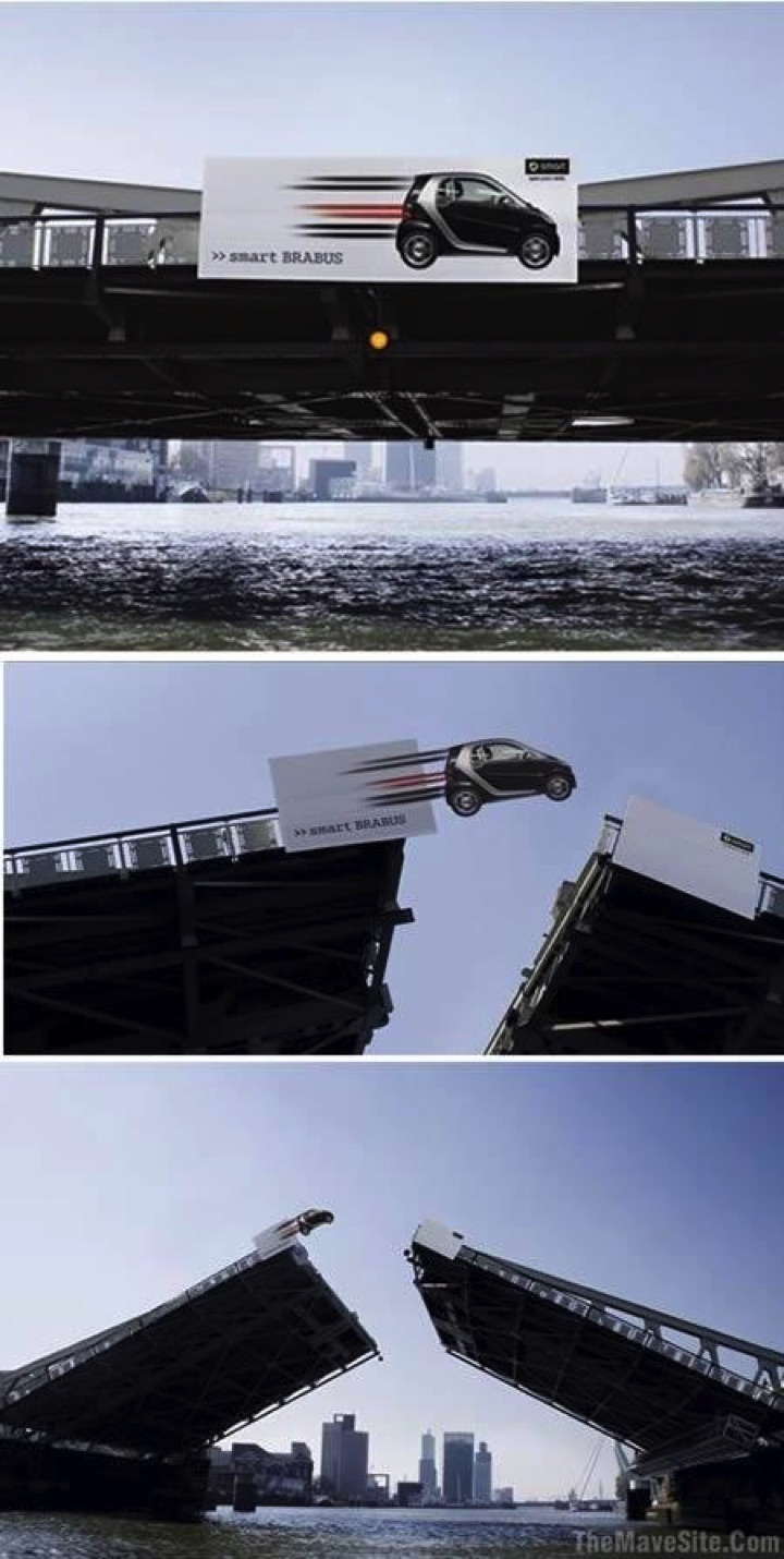 21 Creative Billboard Ads - A fun ad that will get double takes.