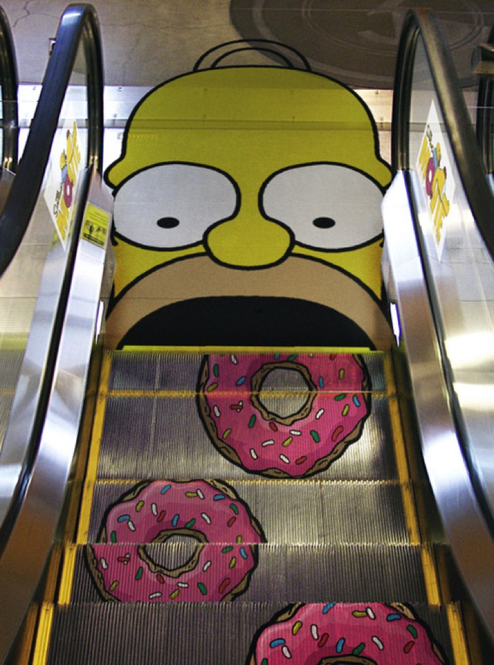 21 Creative Billboard Ads - Mmm...donuts.