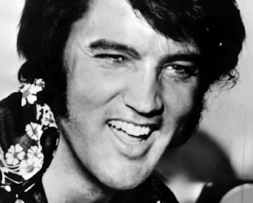 Elvis Can't Stop Laughing While Singing 'Are You Lonesome Tonight'.