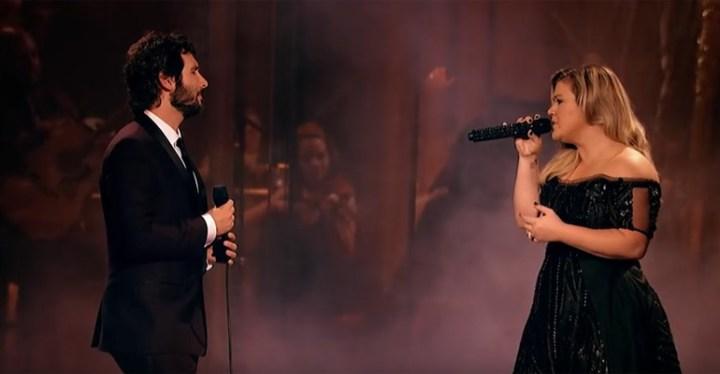 Phantom of the Opera Duet by Josh Groban and Kelly Clarkson.