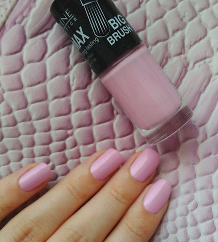 17 Rose Pink Nails - Clean and pretty rose pink nails.