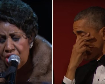 Aretha Franklin Sings Tribute to Carole King at Kennedy Center Honors.