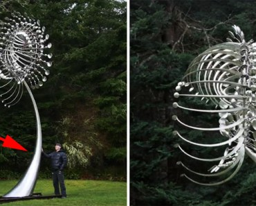 Anthony Howe Creates Giant Kinetic Wind Sculptures.