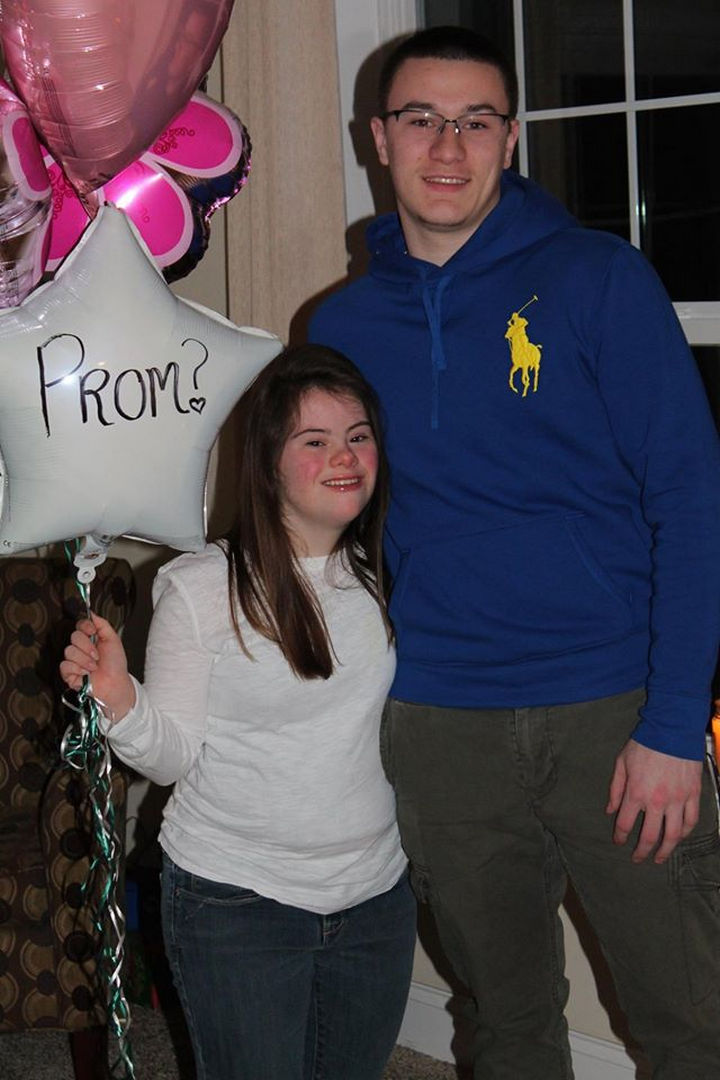 When Ben and Mary met again at a high school football game, their friendship was renewed. Ben kept his promise he made 7 years ago and asked Mary to be his date for the prom.