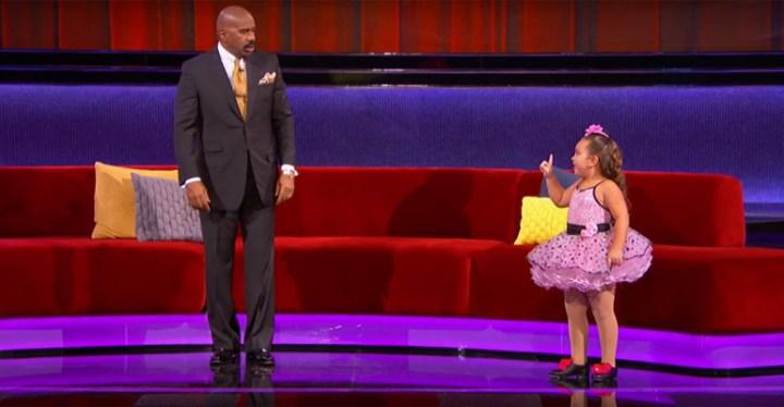 Super Sassy Johanna Performs Respect on Little Big Shots.