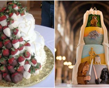 12 Creative Wedding Cake Ideas for the Bride and Groom.