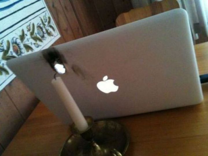 19 People Having a Bad Day - Are Macs fireproof?