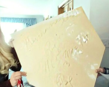 Woman Discovers 51-Year-Old Love Note on a Piece of Drywall