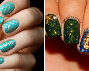 13 Mermaid Nails That Are as Beautiful as the Ocean.