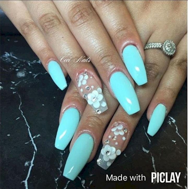 18 Spring Nails - Awesome spring nail art design.