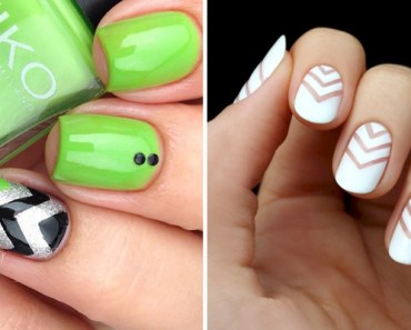 17 Chevron Nails Will Have You Saying Bye to Boring Nails.