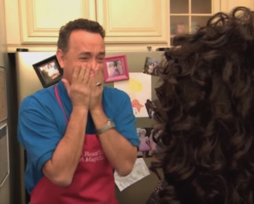 """Tom Hanks' """"Toddlers and Tiaras"""" Episode on Jimmy Kimmel."""